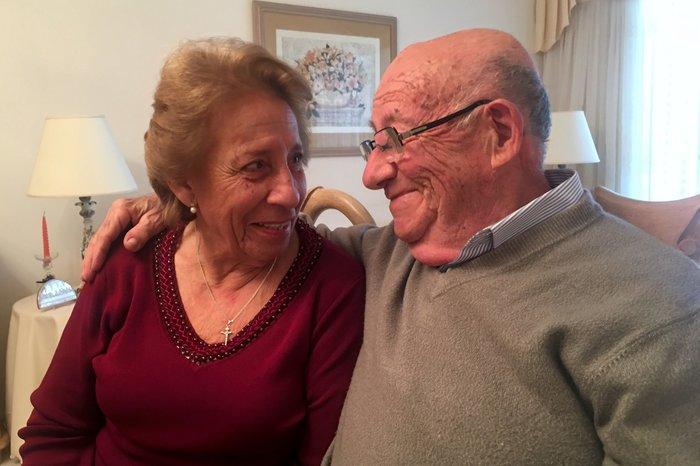 Salvatore Puletto Pulselli (84) y Caterina Stabile Passanante (76)
