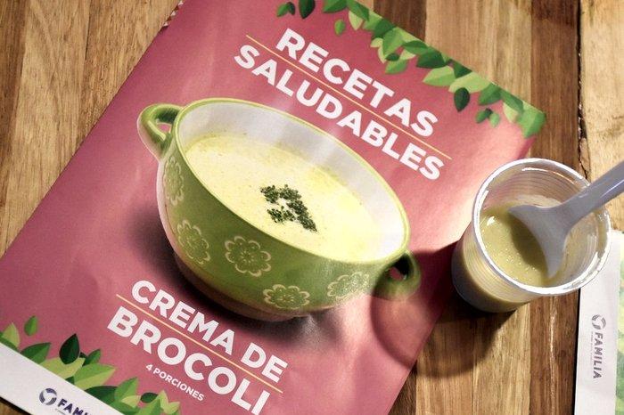 Receta saludable: Crema de brócoli