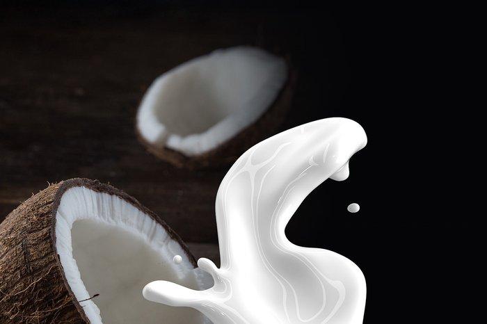 ¿Leche o crema de coco?