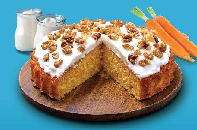 Receta saludable: Torta de zanahoria (Sin gluten ni azúcar añadido)