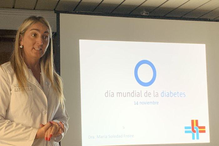 Jornadas informativas y de control de diabetes en la Asociación Española