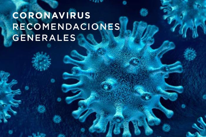 Compartimos recomendaciones para prevenir el Coronavirus (COVID-19)