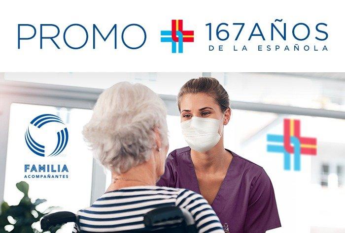 """Afiliate a FAMILIA ACOMPAÑANTES con la Promo """"167 años de la Española"""""""